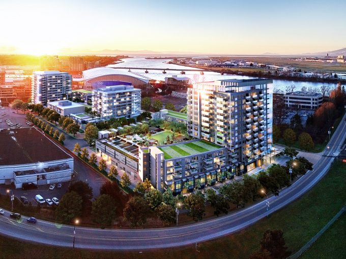 [LEASED] Richmond Oval Village – 2 Beds – 1 Bath Ensuite – Parking – 766 ft2 – Brand New Condo