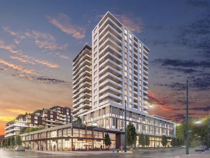 [LEASED] Quartet by Wesgroup – Vancouver River Districts – 1+1 Bed – 1 Bath – Parking – 580 sq ft – New Luxury Condo
