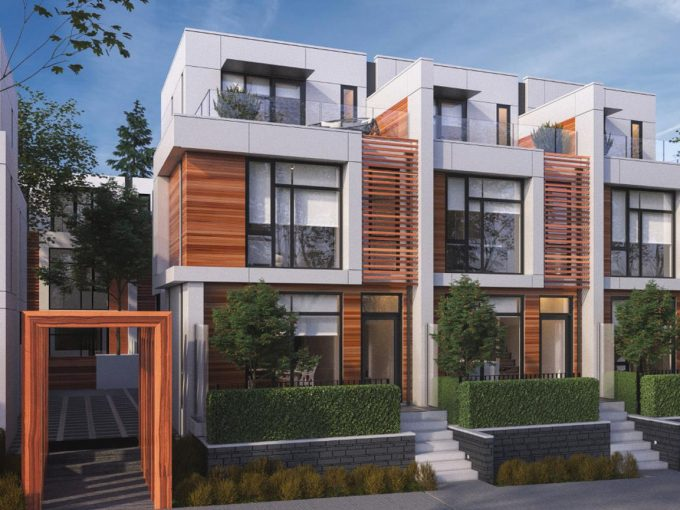 [LEASED] Vancouver – Granville – 2+1 Beds – 2.5 Baths – Brand New Luxury Townhome