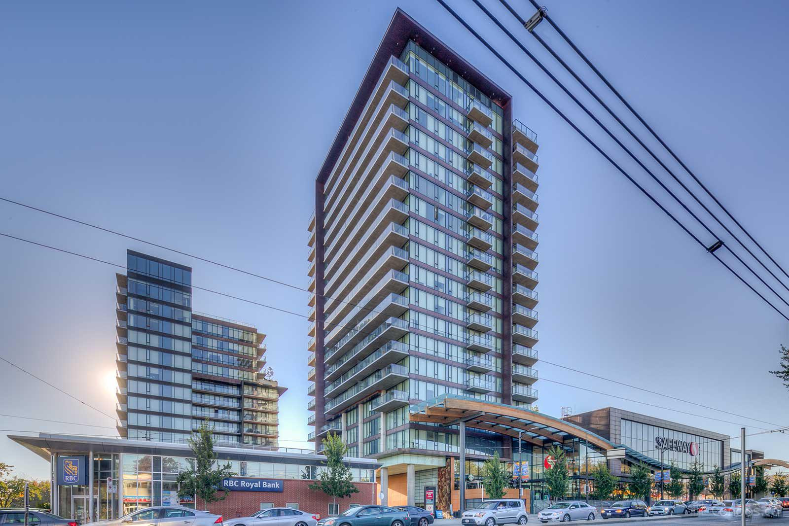 [LEASED] Vancouver West – South West Marine Dr – 1 Bed – 1 Bath – 511 sq ft – Luxury Condo